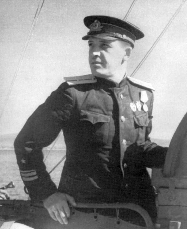 Командир 4-го дивизиона сторожевых катеров