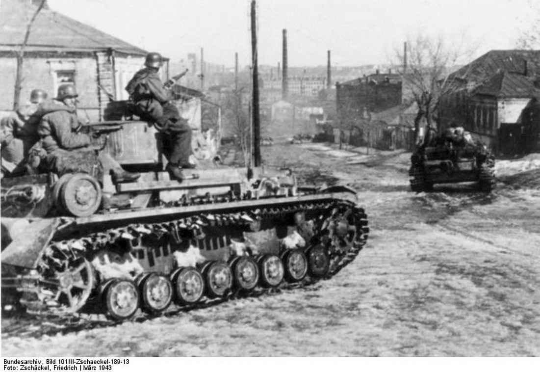 Т-IV из танкового корпуса СС на Холодной Горе