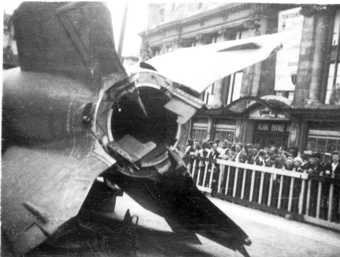 Немецкая ракета ФАУ-2 в Антверпене