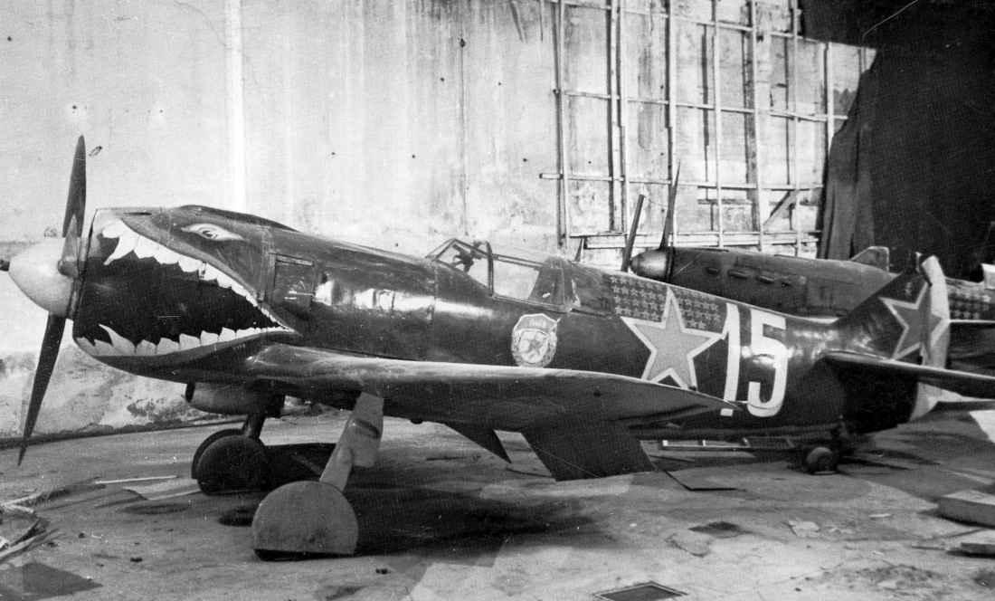 Музей обороны Ленинграда: истребитель Ла-5