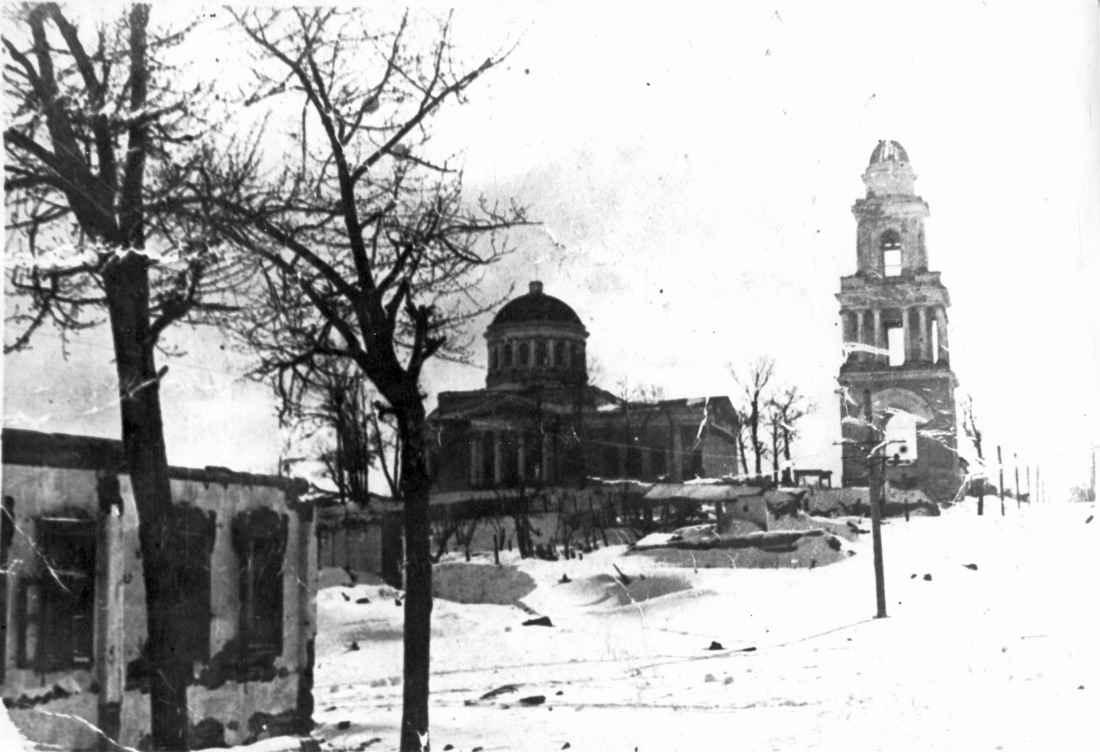 Церковь и колокольня во Ржеве