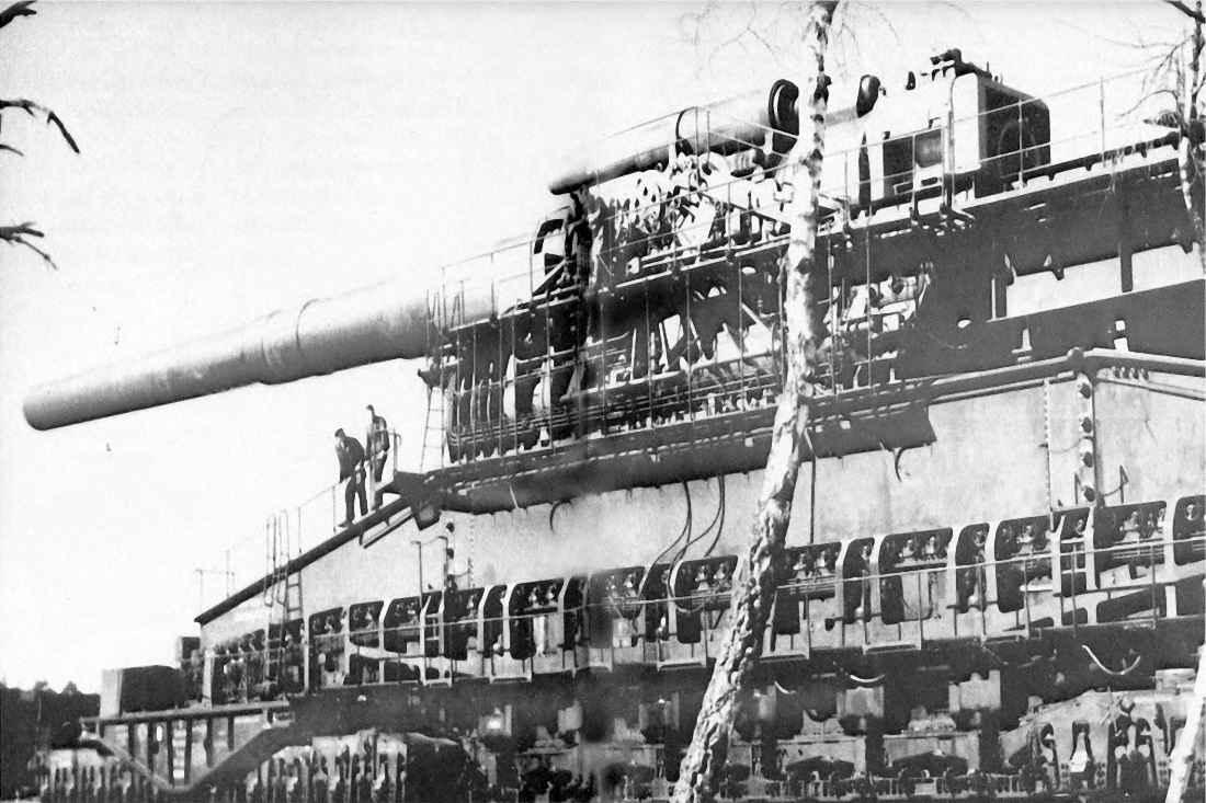 Немецкая артиллерийская установка «Дора»