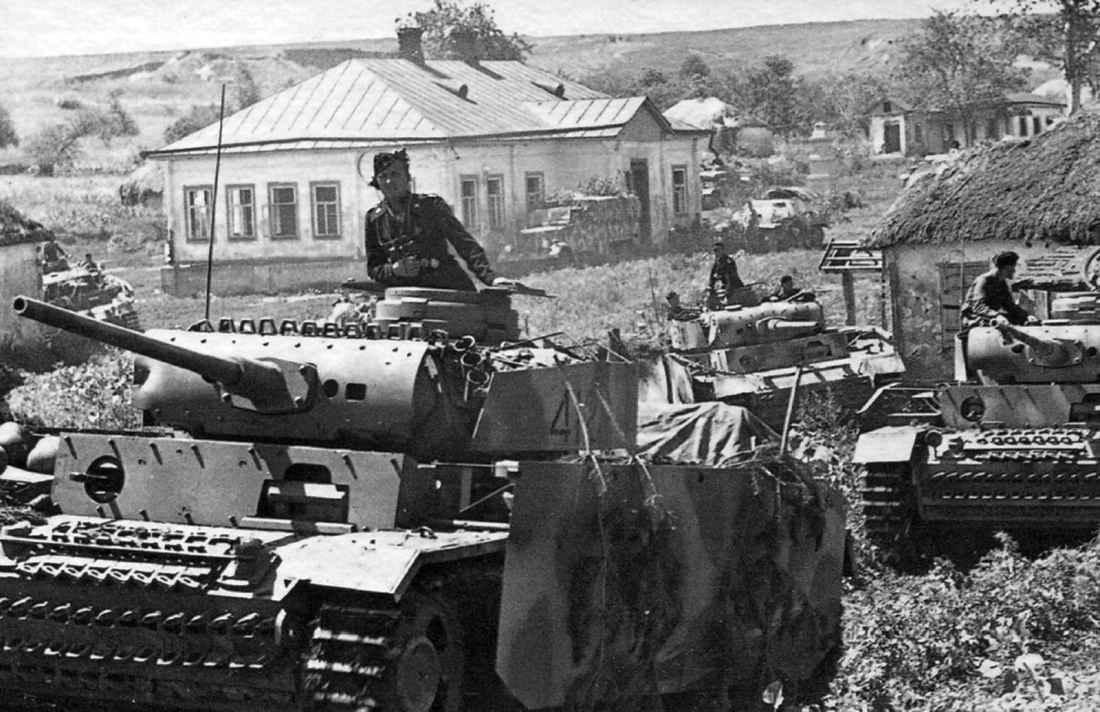 Немецкие танки перед началом операции «Цитадель»