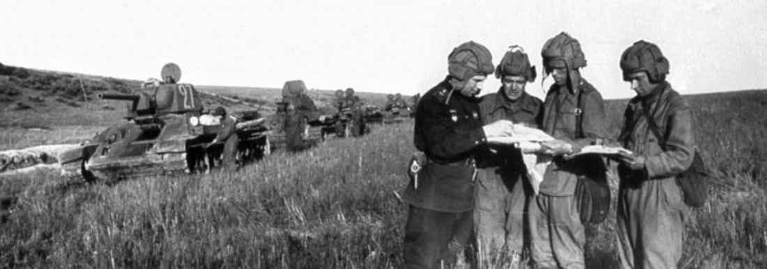 Гвардии полковник В.В. Сытин ставит задачу
