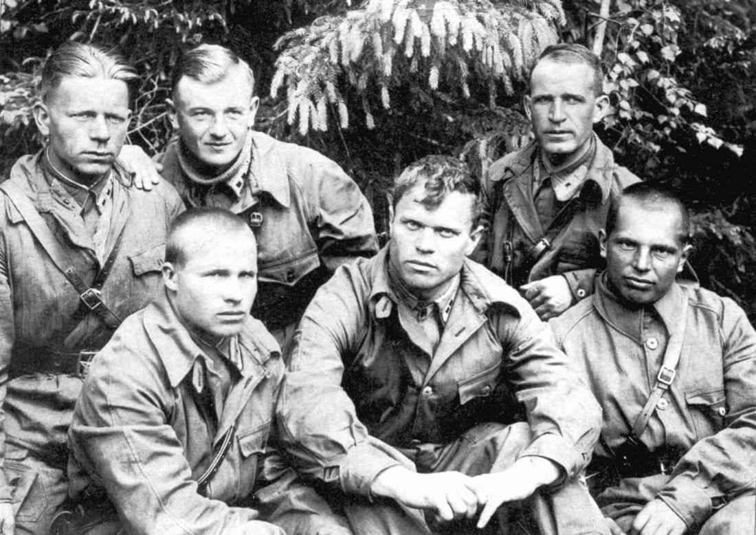 Советские летчики в 1941 году