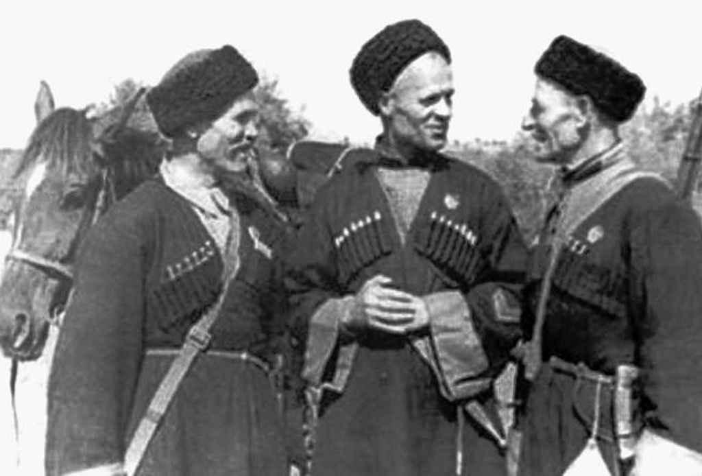 Казаки 13-й Кубанской казачьей дивизии, 1942 год