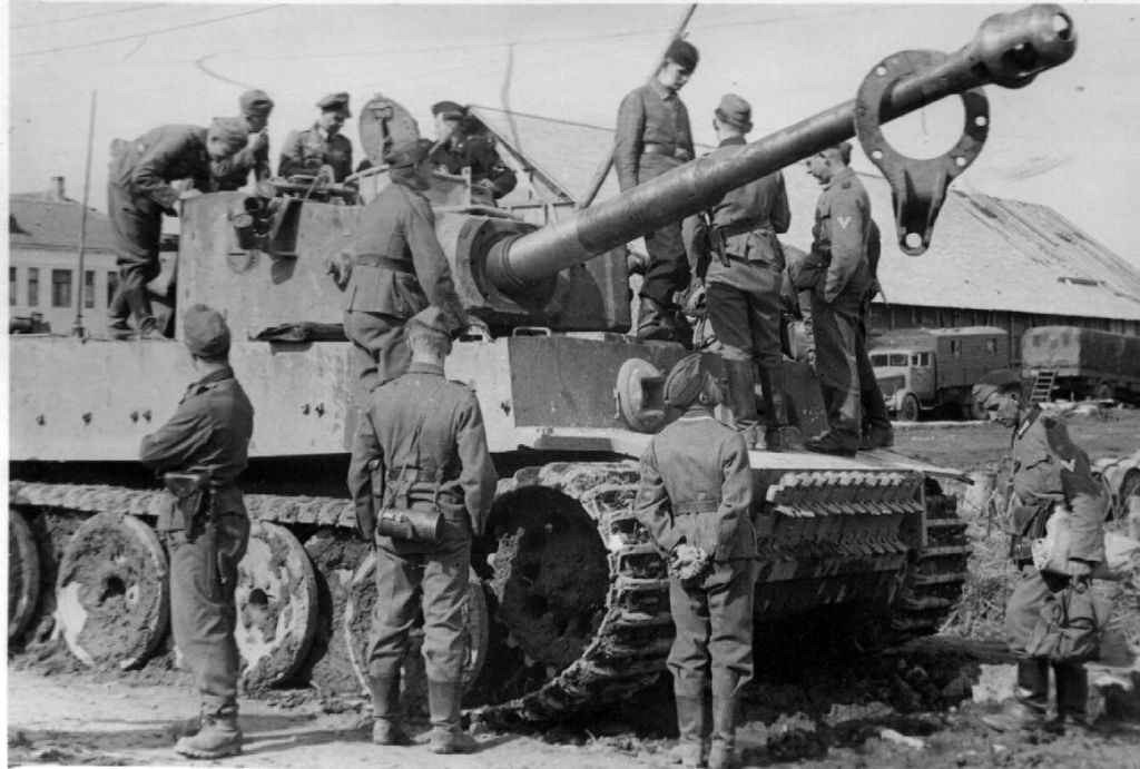 Новейший немецкий тяжелый танк «Тигр»