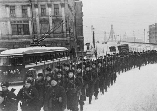 Морпехи в битве за Москву
