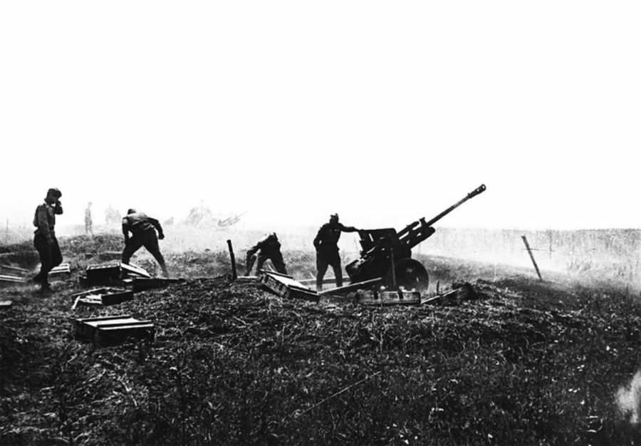 Орудие сержанта Афанасьева
