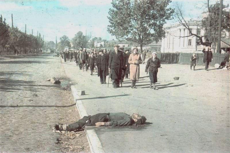 Убитые в оккупированном Киеве