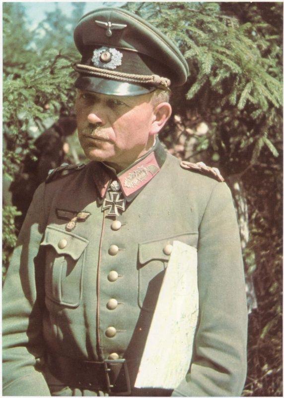 Генерал-полковник вермахта Гейнц Гудериан