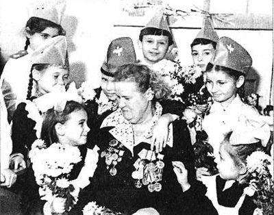 Ленинградка Мария Степановна Батракова (Демидова) в 1980 г.