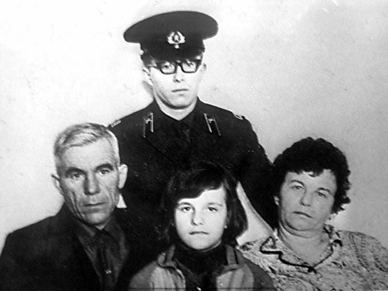 Семья Иосифа Марченко и Зинаиды Туснолобовой