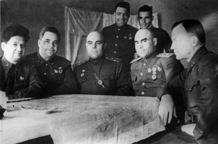 Резерв Ставки ВГК - штаб 62-й армии