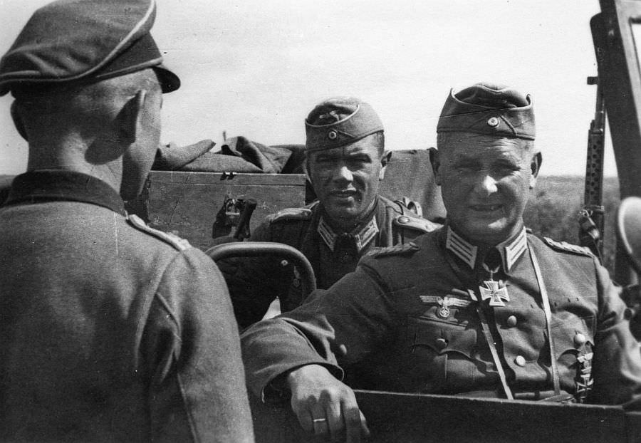 Командир 19-й танковой дивизии Густав Шмидт