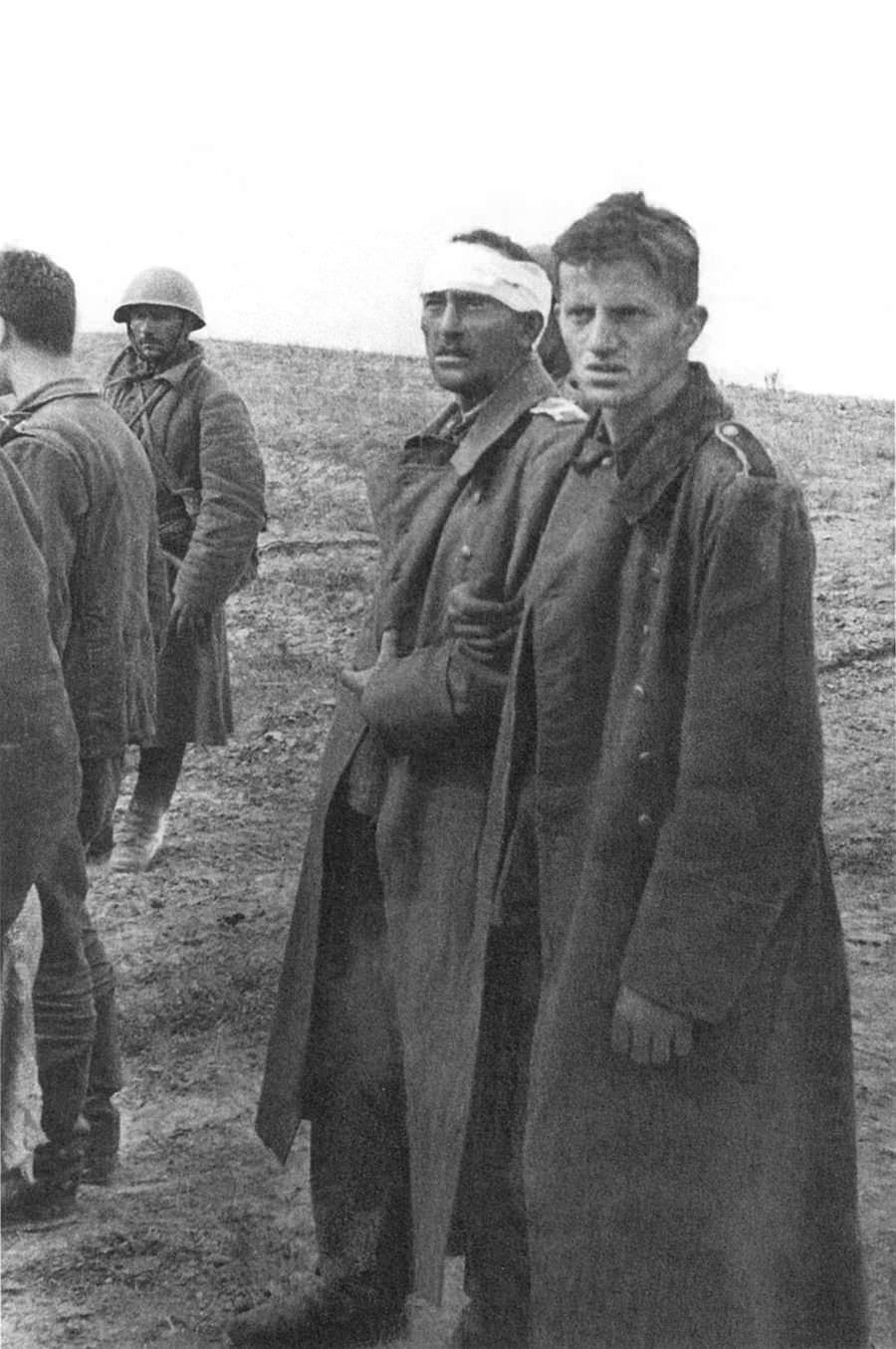 Немецкие пленные, захваченные войсками Брянского фронта