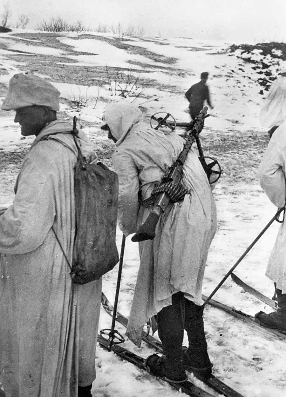 Горные егеря 6-й немецкой горной дивизии