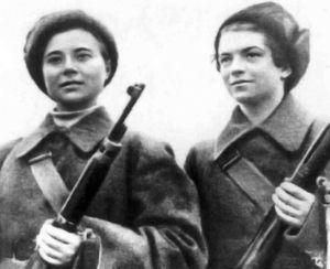 Маша Поливанова и Наташа Ковшова