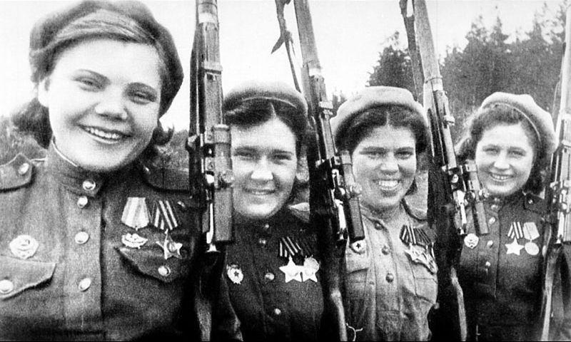Cнайперы Калининского фронта
