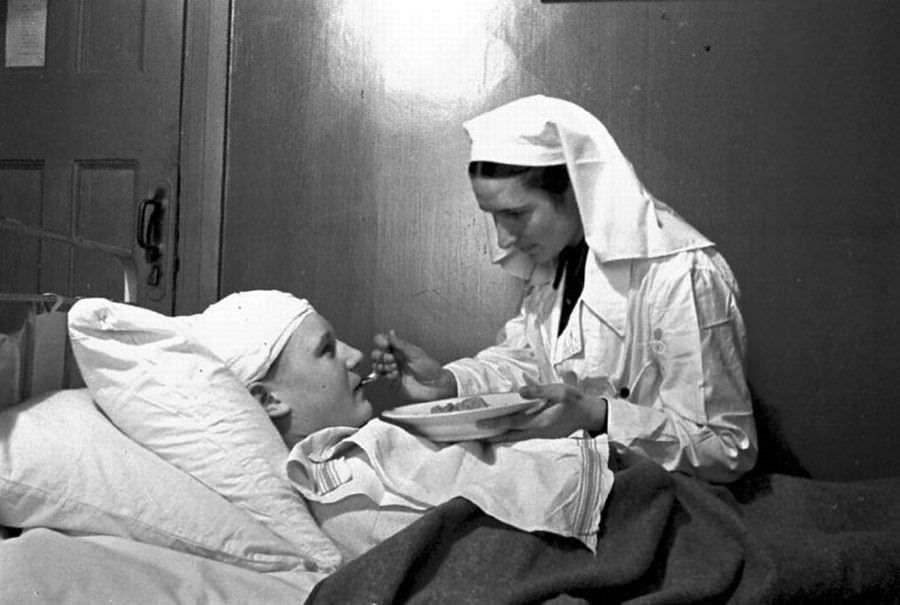 В эвакуационно-сортировочном госпитале № 2-386