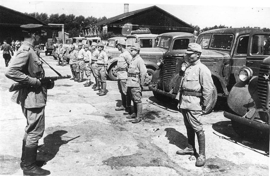 После капитуляции Квантунской армии