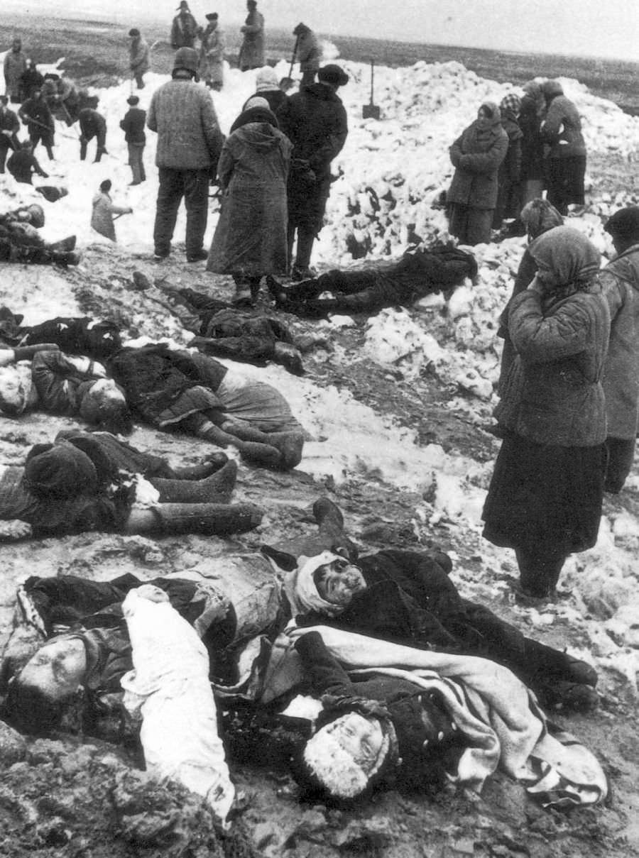 Керчь, убитые в Багеровском рву