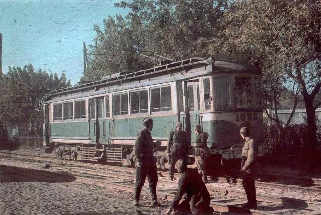 Оккупированный Киев: советские пленные ремонтируют трамвайные пути
