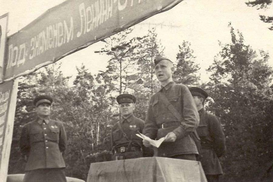 Клятва перед уходом на фронт