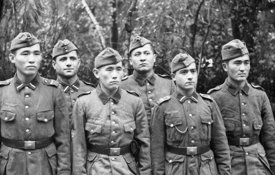 Туркестанские легионеры в вермахте