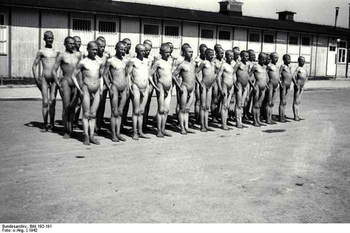 Немцы часто практиковали перекличку узников при температуре -10 в голом виде, без одежды