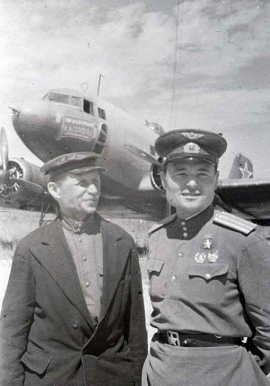 Самолет, построенный на личные сбережения А.М. Сарскова