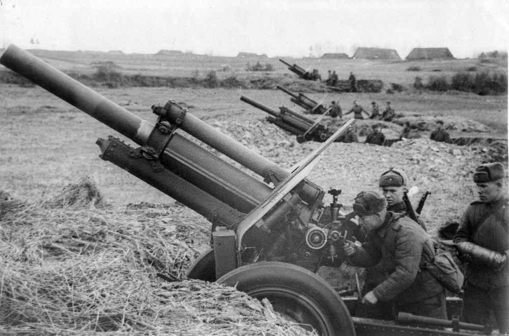 Подготовка к артобстрелу