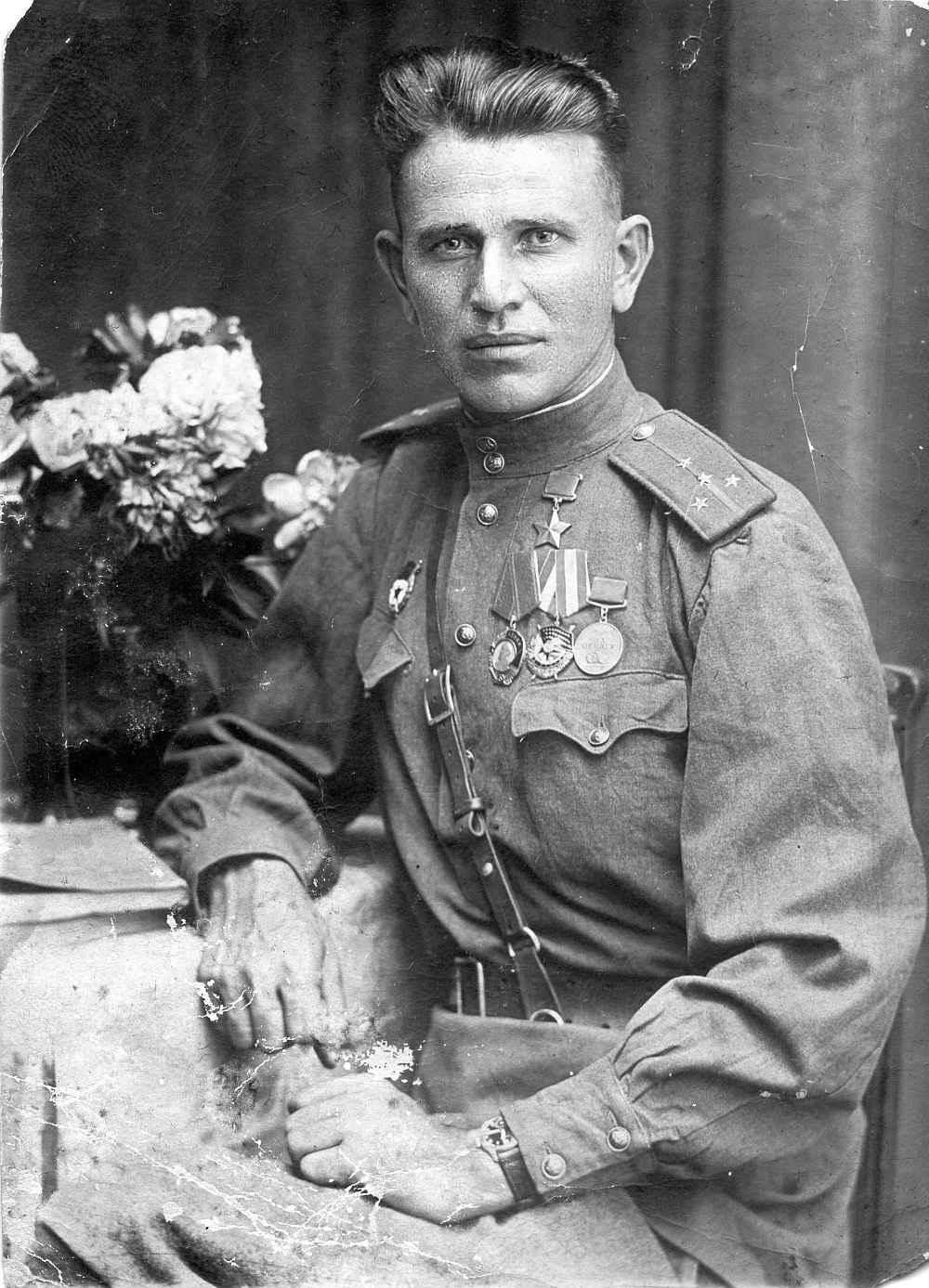Капитан П.М. Кутепов