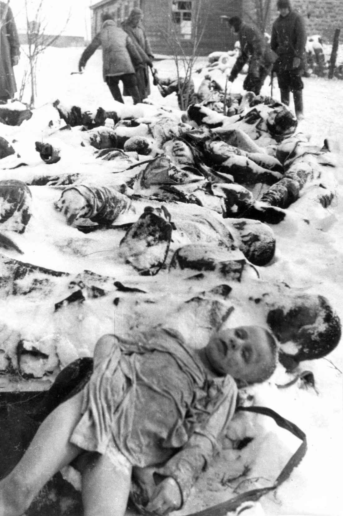 Советские граждане, убитые под Керчью