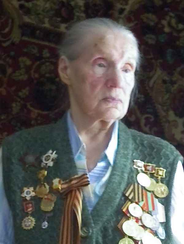 Кретинина (Веденина) Вера Павловна