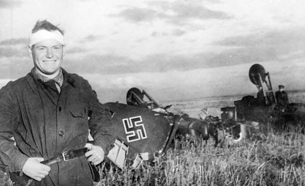 Летчик-истребитель И.М. Чумбарёв
