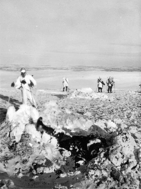 Горные егеря 141-го полка вермахта