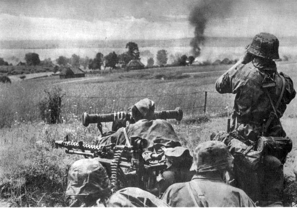 Дивизия СС «Лейбштандарт Адольф Гитлер» во время боя