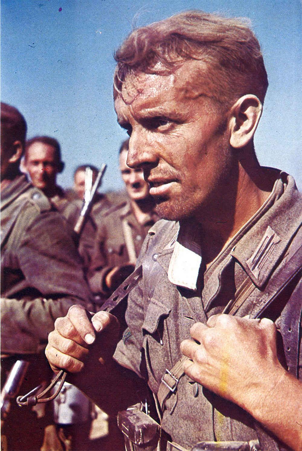 Солдат вермахта в июне 1941 года