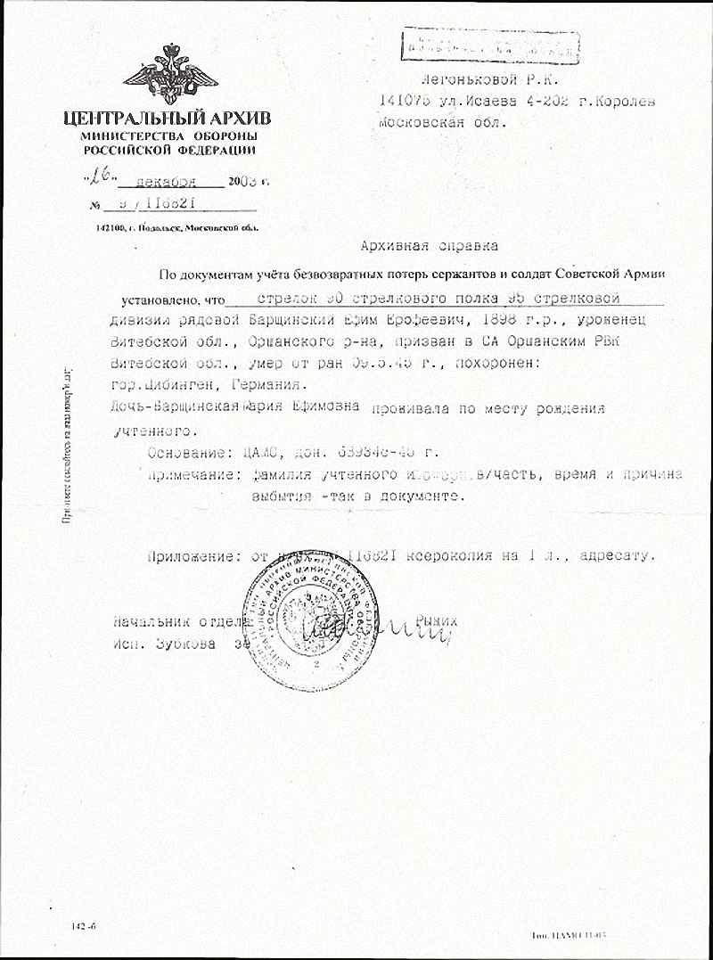 Борщинский Ефим Ерофеевич