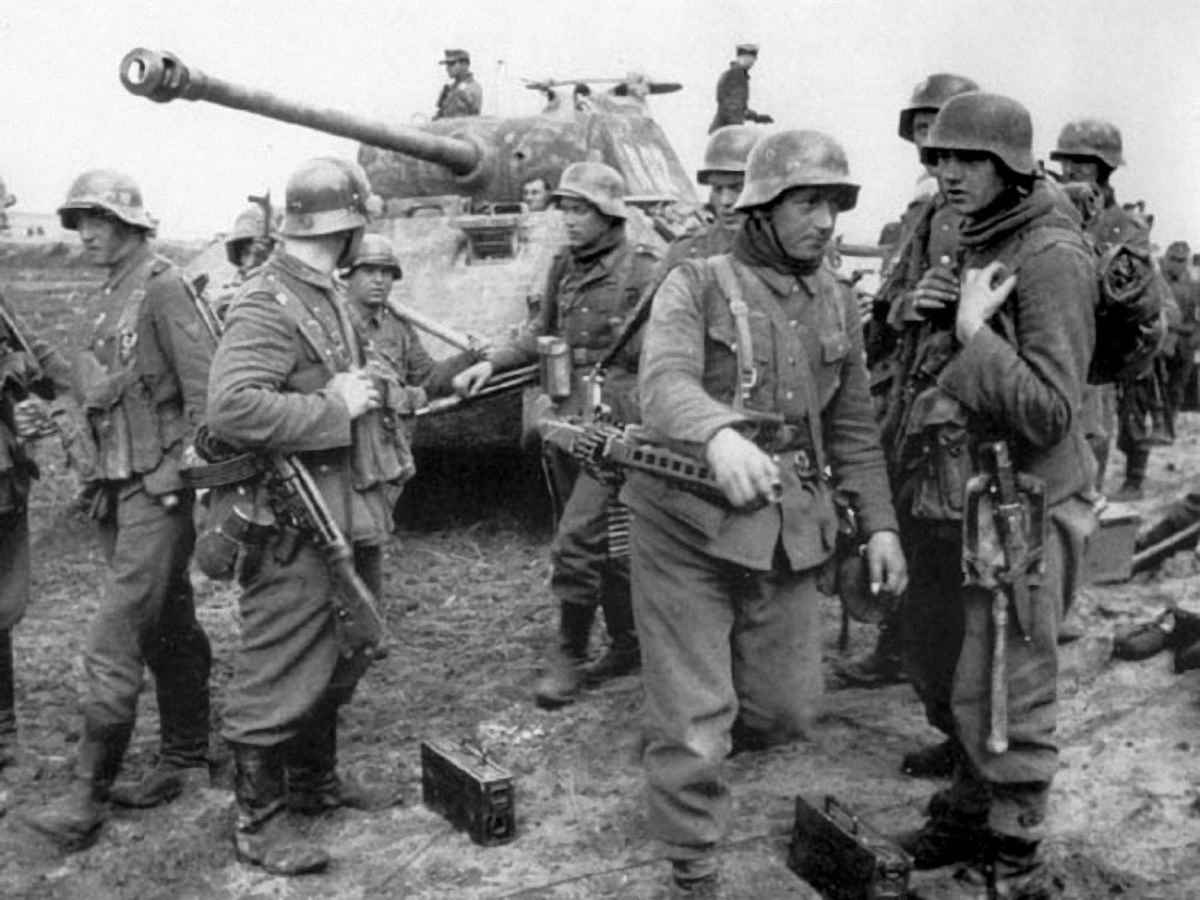 Панцергренадеры дивизии СС «Викинг»