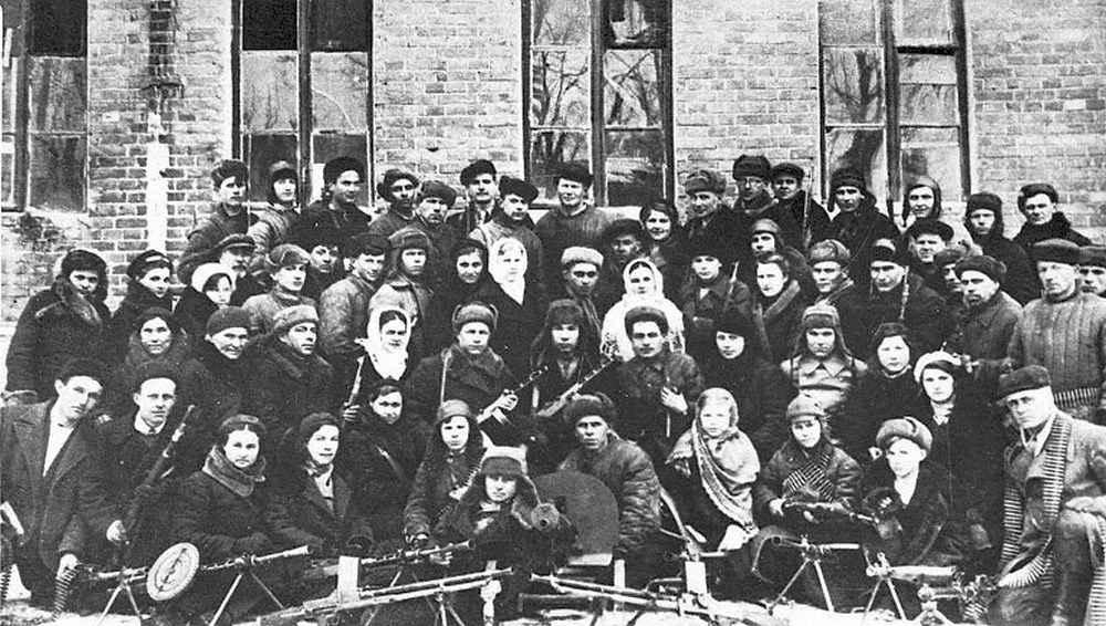 Партизанский отряд М.М.Югова