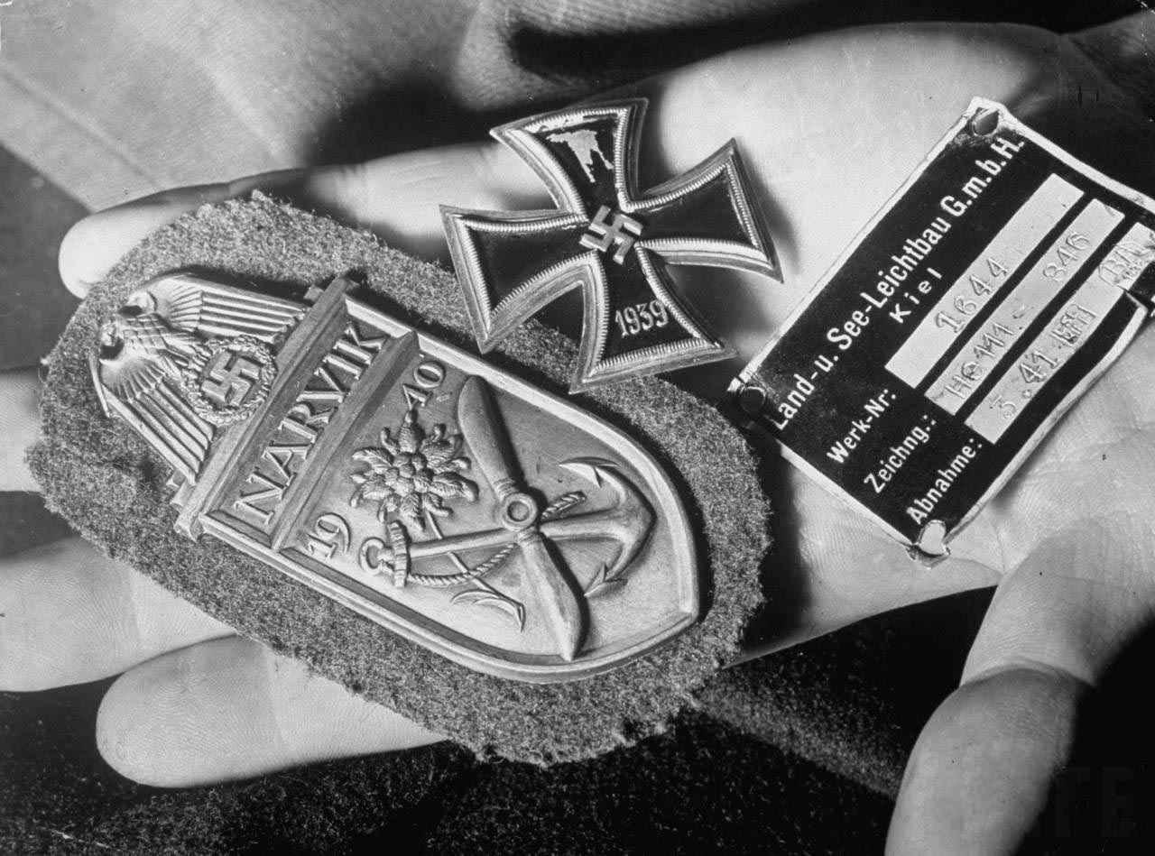 Москва 1941 год, сбитый немецкий самолет