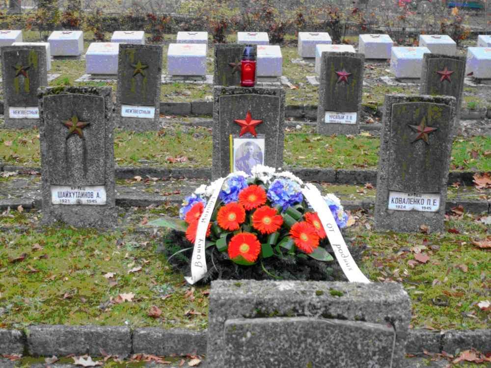 Могила лейтенанта Михаила Линькова