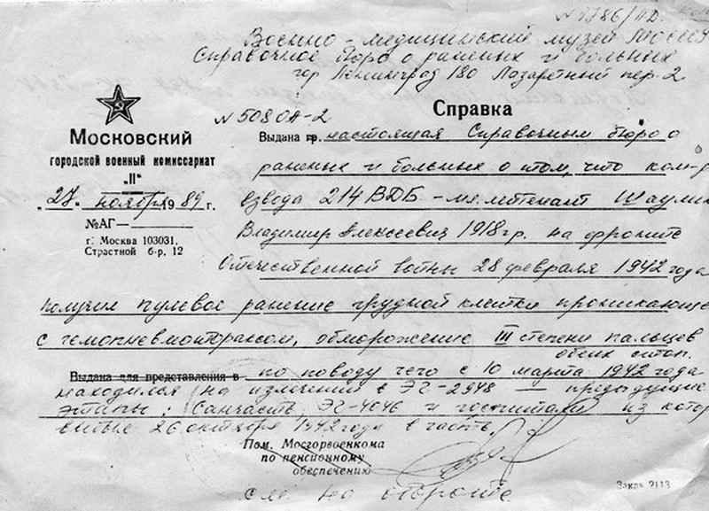 Владимир Алексеевич Шаулин