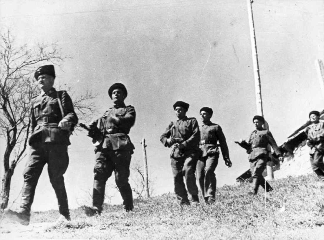 Казаки из состава немецких войск