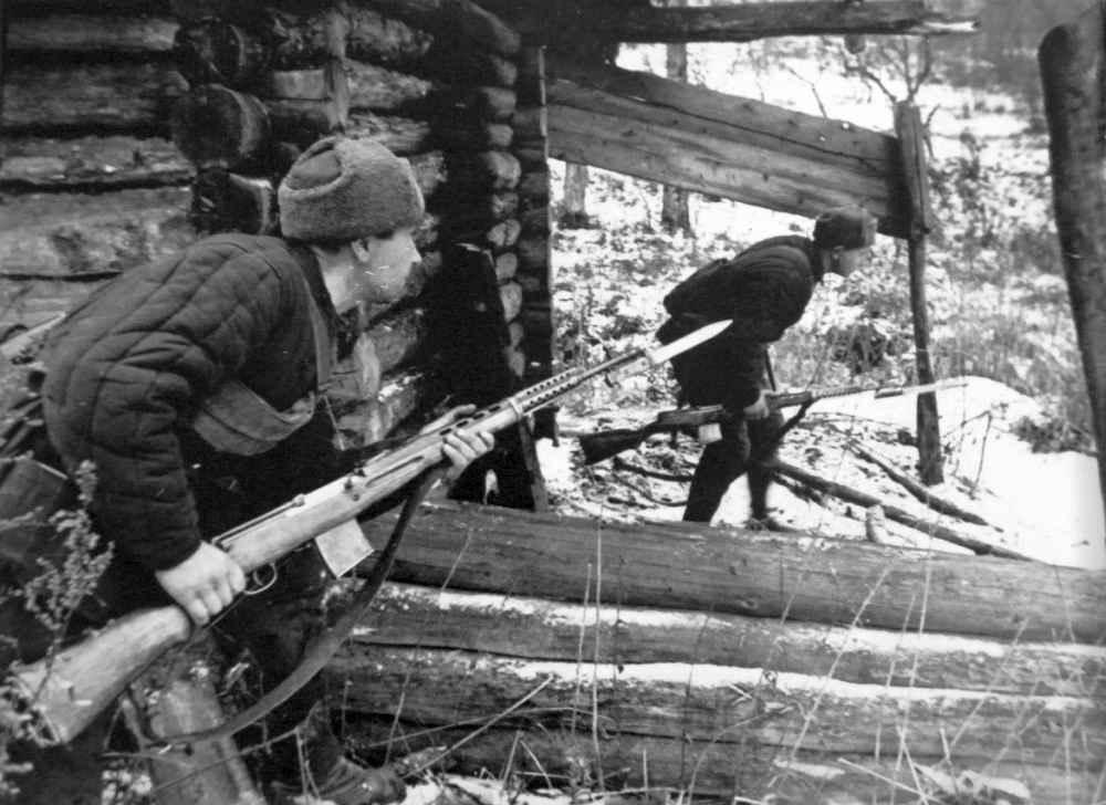 Во время битвы за Москву