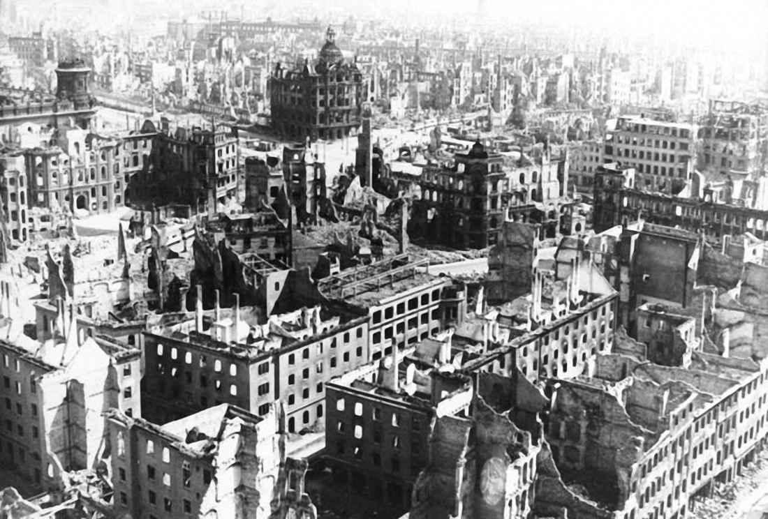Разрушенный Дрезден