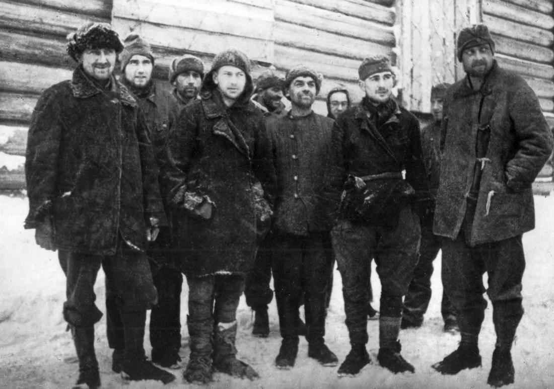 Немецкие солдаты, взятые в плен
