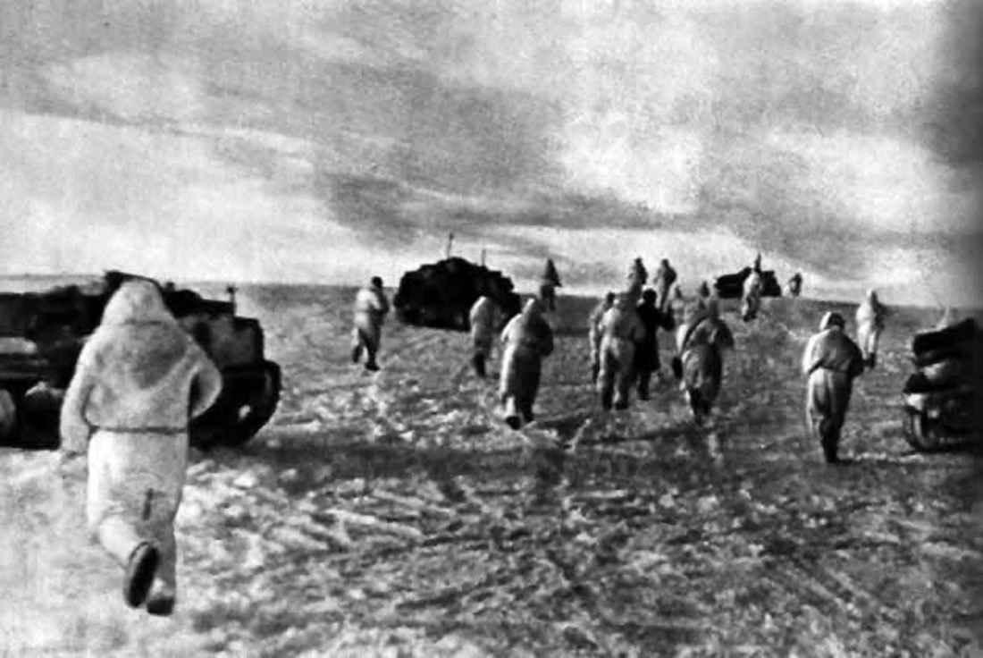 Гвардейский танковый корпус в бою